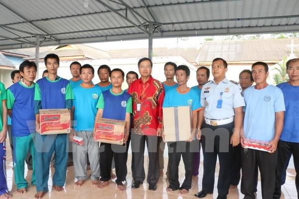 Vietnam protege derechos de pescadores connacionales detenidos en Indonesia hinh anh 1