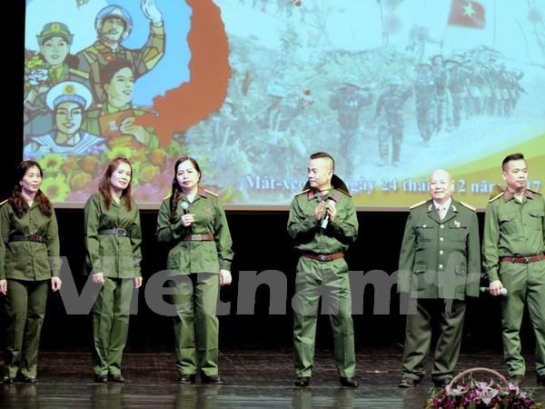 Resaltan la gloriosa tradicion del Ejercito Popular de Vietnam en su aniversario de fundacion hinh anh 1