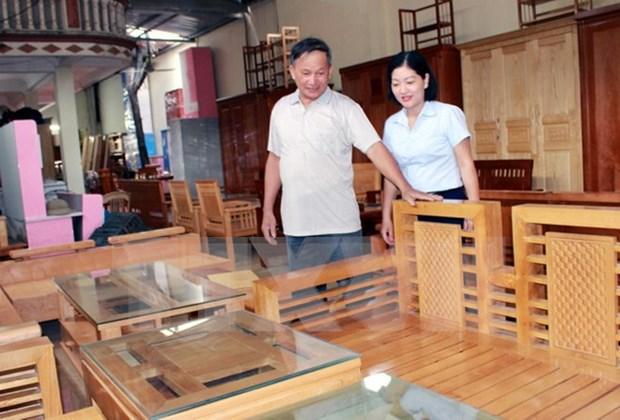 Exportaciones de madera vietnamita sobrecumplen meta planeada para 2017 hinh anh 1