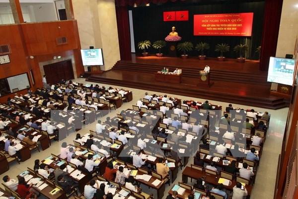 Efectuan en Vietnam conferencia sobre labores de prensa nacional hinh anh 1