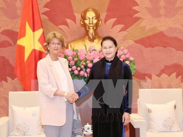 Vietnam otorga importancia a las relaciones con Espana hinh anh 1