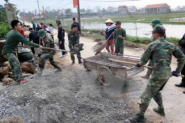 Vietnam supera meta anual de construccion de nuevas zonas rurales hinh anh 1