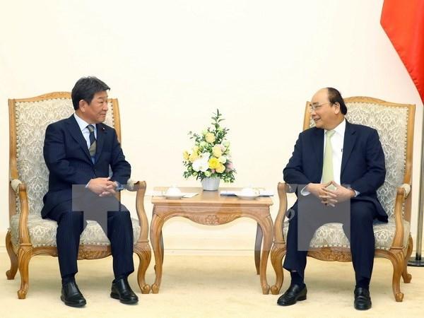 Vietnam y Japon por impulsar Acuerdo Integral y Progresivo de Asociacion Transpacifico hinh anh 1