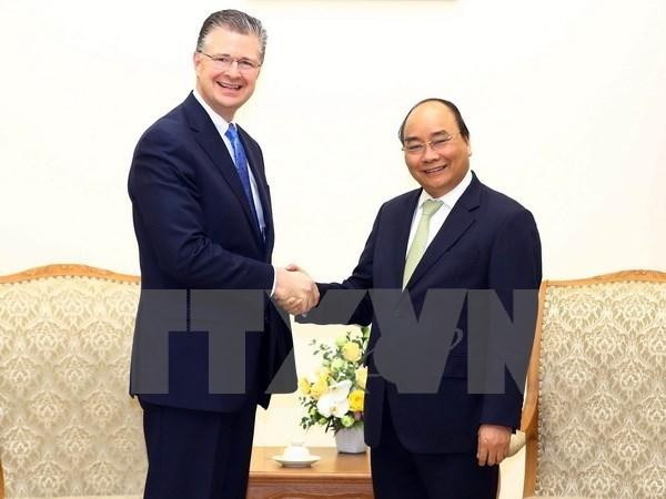 Nuevo embajador estadounidense se compromete a promover nexos con Vietnam hinh anh 1