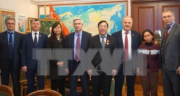 Rusia y Vietnam por promover relaciones entre jovenes generaciones hinh anh 1