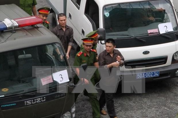 Emiten sentencias contra grupo terrorista en Vietnam hinh anh 1