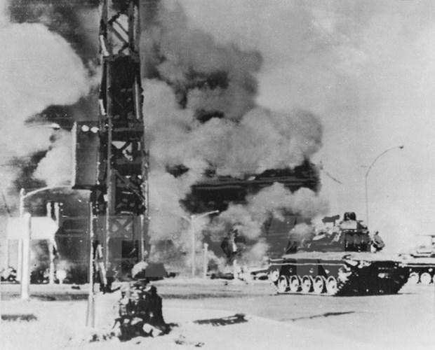 Espiritu combativo del levantamiento 1968 sirve de estimulo para desarrollo nacional, afirma presidente hinh anh 1