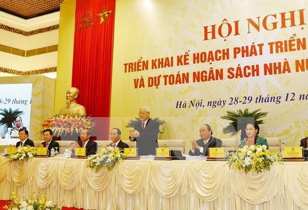 Gobierno vietnamita inicia ultima reunion con poderes locales en 2017 hinh anh 1