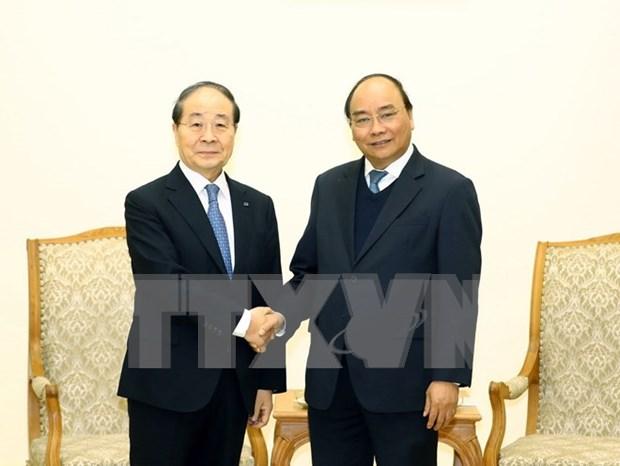 Premier de Vietnam promete optimas condiciones para empresas de Sudcorea hinh anh 1