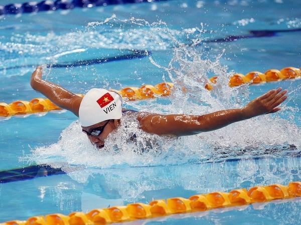 Nadadora Anh Vien elegida mejor deportista de Vietnam en 2017 hinh anh 1