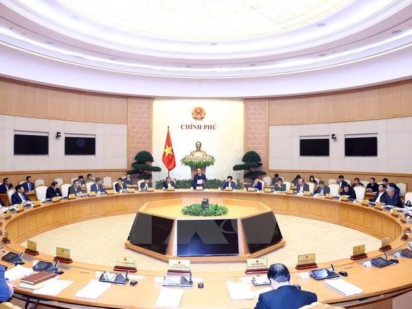 Gobierno vietnamita efectua ultima reunion ordinaria en 2017 hinh anh 1