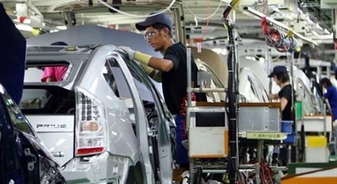 Produccion industrial de Tailandia sobrepasa cifra prevista hinh anh 1