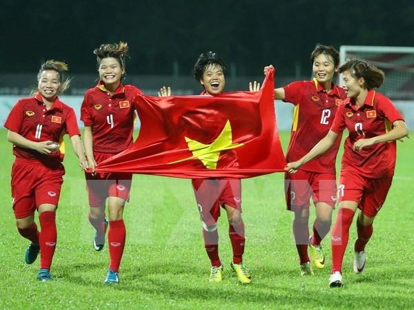 Vietnam jugara torneo amistoso de futbol femenino en China hinh anh 1