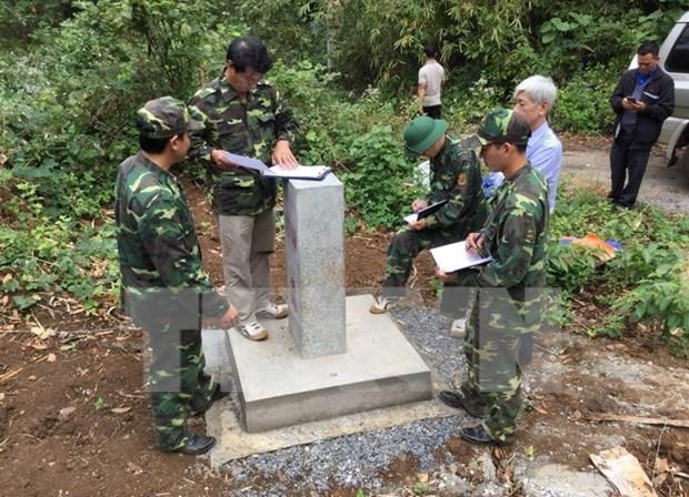 Provincia vietnamita completa tareas de demarcacion fronteriza en 2017 hinh anh 1