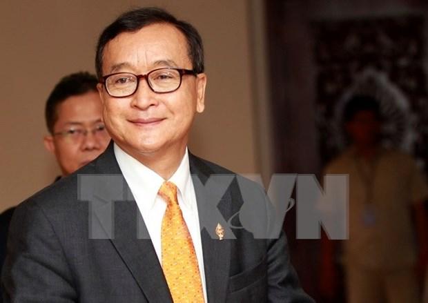 Camboya: Expresidente del partido opositor declarado culpable por difamacion hinh anh 1
