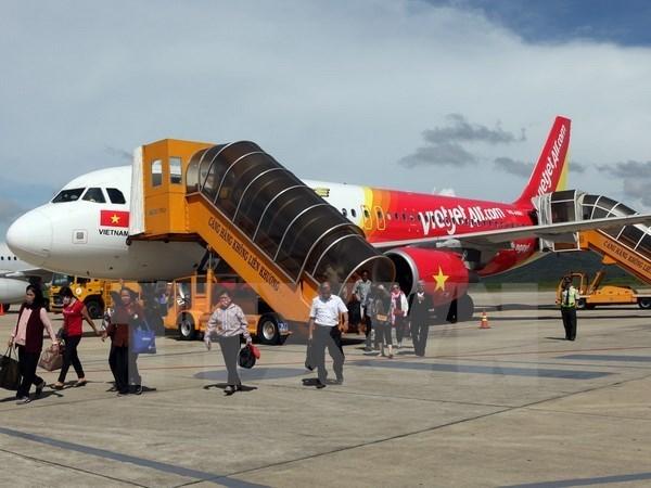 Vietjet Air ofrece dos millones de boletos de bajo costo hinh anh 1