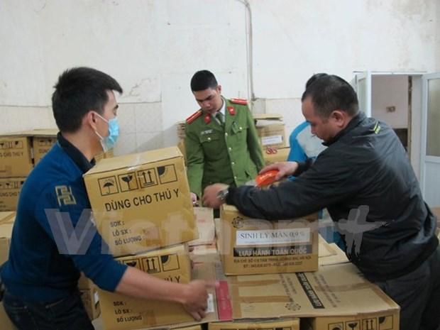 Reducen numero de contrabando en Vietnam en 2017 hinh anh 1