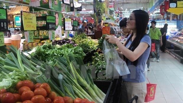 Hanoi por garantizar fuentes de productos alimenticios en ocasion del Tet 2018 hinh anh 1