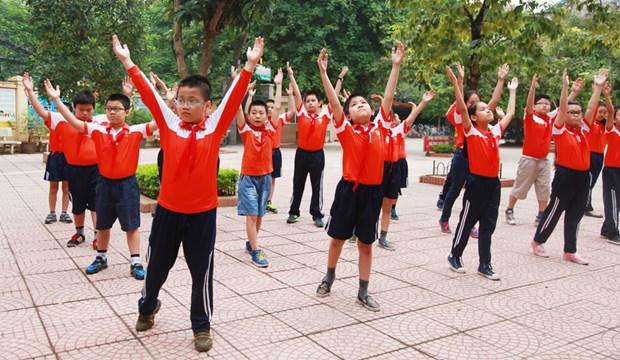 Estatura media de hanoyenses es mayor que en decada anterior hinh anh 1