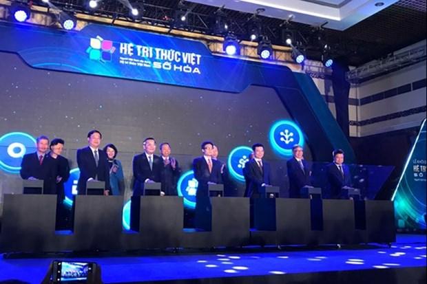 Lanzan el sistema de conocimiento vietnamita digitalizado hinh anh 1