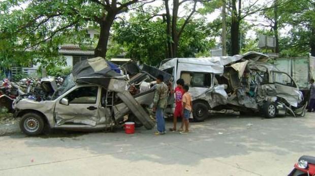 Tailandia: unos 300 muertos por accidentes de transito en visperas del 2018 hinh anh 1