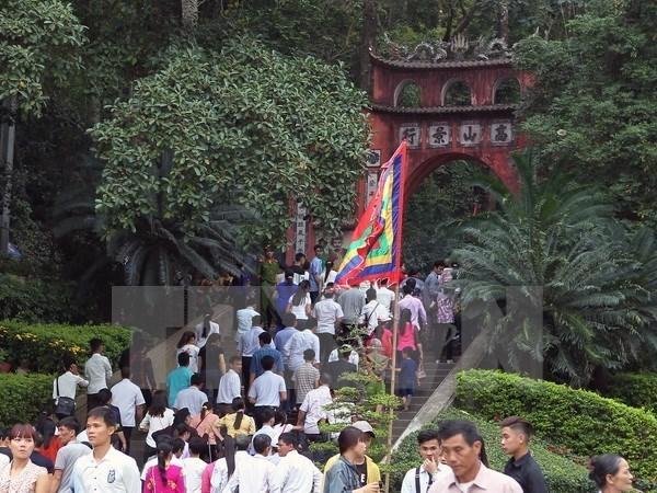 Provincia vietnamita de Phu Tho da bienvenida a primeros turistas extranjeros hinh anh 3