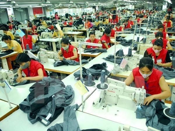 Vietnam aspira a 33 mil 500 millones de dolares de exportaciones textiles en 2018 hinh anh 1