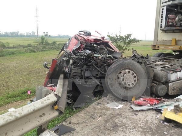 Vietnam registra 67 muertos por accidentes de trafico en dias festivos por Ano Nuevo hinh anh 1