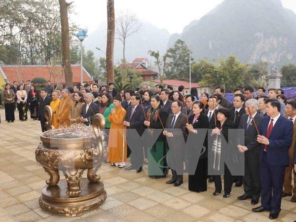Inauguran en Son La casa conmemorativa del Presidente Ho Chi Minh hinh anh 1