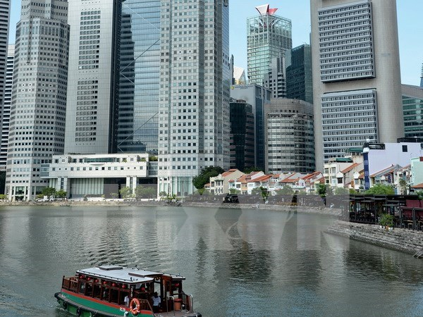 Economia de Singapur experimento en 2017 un crecimiento de 3,5 por ciento hinh anh 1