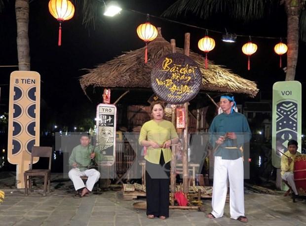 "Presentaran en vivo canto ""Bai Choi"", nuevo patrimonio cultural de Vietnam hinh anh 1"