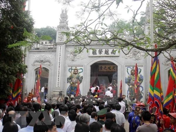 Provincia vietnamita de Phu Tho da bienvenida a primeros turistas extranjeros hinh anh 2