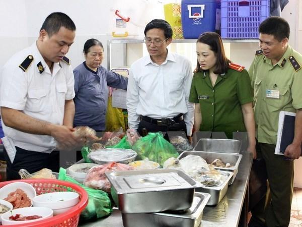 Ciudad Ho Chi Minh establece grupos de inspeccion de inocuidad alimentaria hinh anh 1