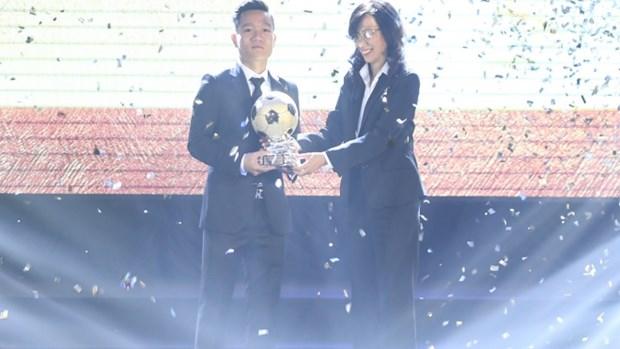 Dinh Thanh Trung gana el Balon de Oro vietnamita hinh anh 1