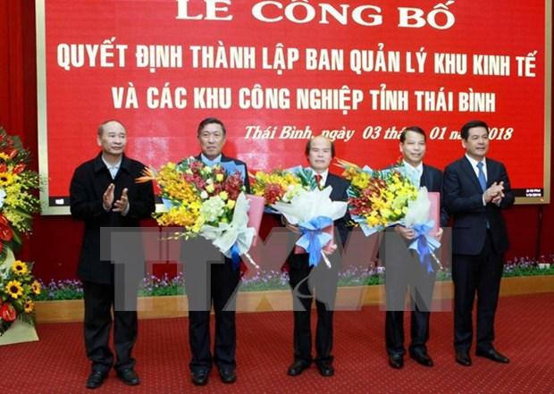 Establecen zona economica de Thai Binh hinh anh 1