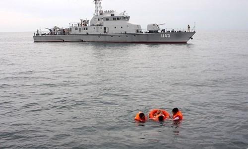 Armadas de Vietnam y Camboya realizan patrullaje conjunto hinh anh 1