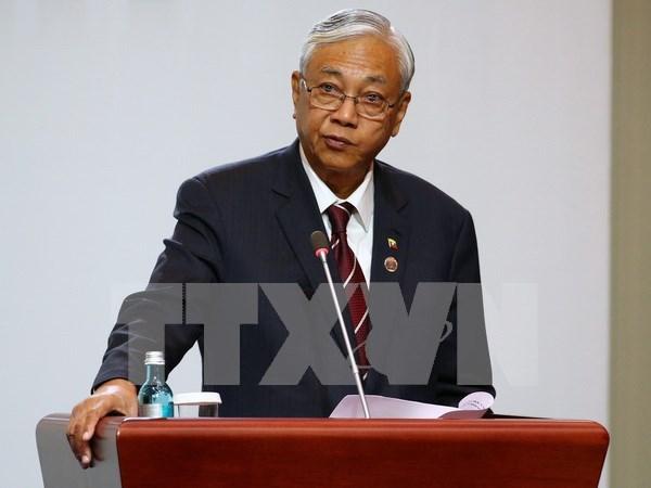 Presidente de Myanmar llama a reformar la Constitucion hinh anh 1