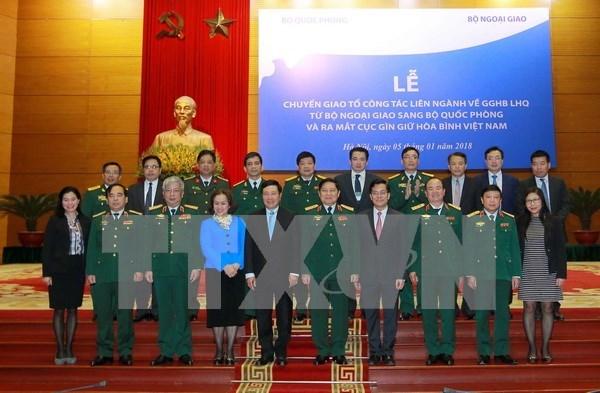 Debutan en Vietnam Departamento de Mantenimiento de la Paz hinh anh 1