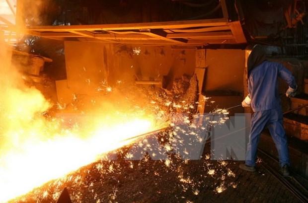 Fabricante vietnamita de acero reporta fuerte crecimiento en 2017 hinh anh 1