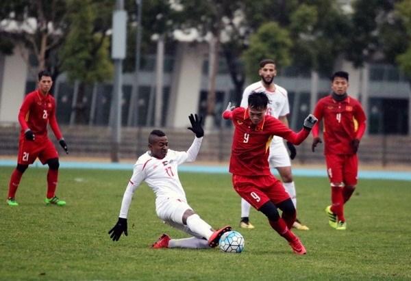 Vietnam empata 1-1 ante Palestina en partido amistoso hinh anh 1