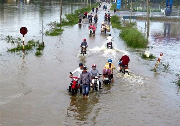 PNUD apoya construccion de casas para personas afectadas por inundaciones en Vietnam hinh anh 1