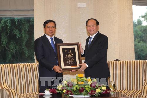 Ciudad Ho Chi Minh atesora amistad con localidades de Laos hinh anh 1