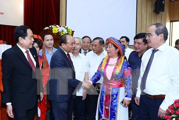 Frente de la Patria de Vietnam fortalecera lucha contra corrupcion hinh anh 1