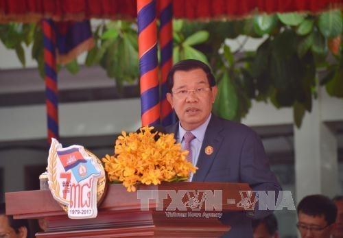 Camboya conmemora victoria sobre el regimen genocida de Pol Pot hinh anh 1