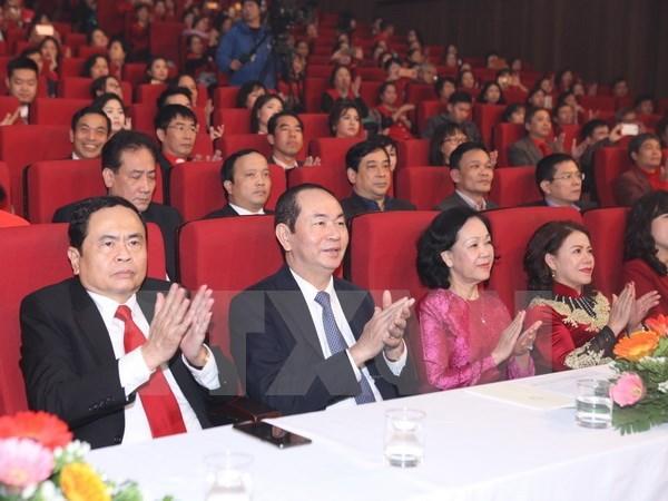 Presidente de Vietnam reconoce contribuciones de Cruz Roja hinh anh 1