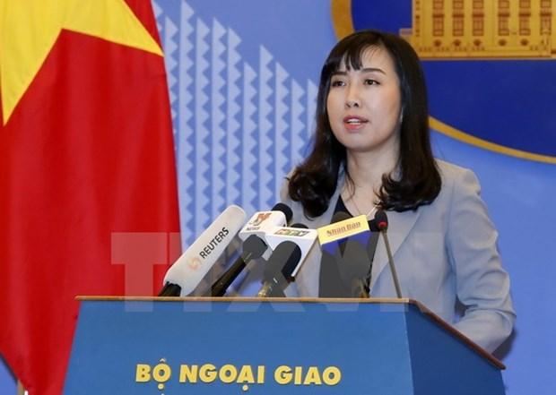 Vietnam respalda esfuerzos para impulsar dialogo y paz en Peninsula de Corea hinh anh 1