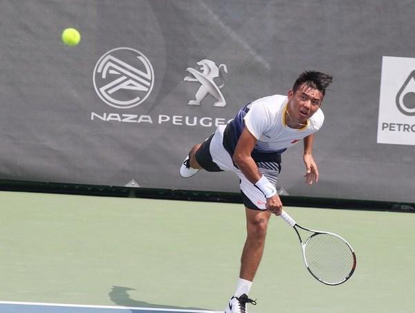 Tenista vietnamita se despide de torneo Hong Kong Futures hinh anh 1