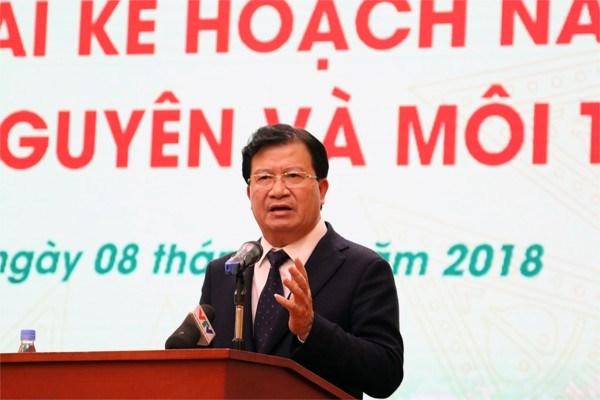 Gobierno de Vietnam urge a perfeccionar la gestion estatal en recursos naturales y medioambiente hinh anh 1