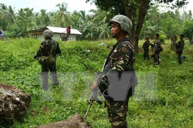 Ejercito filipino aplasta intento de ataque de rebeldes en el Sur hinh anh 1