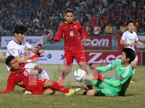 Seleccionan a futbolistas vietnamitas para ronda final de Campeonato Asiatico sub-23 hinh anh 1